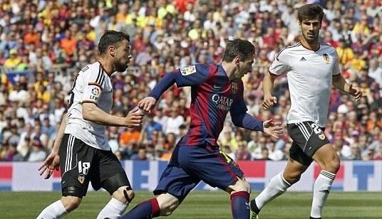 Dónde ver el partido de fútbol Valencia Barcelona 22 octubre