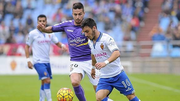 Dónde ver el partido de fútbol Valladolid Zaragoza 23 octubre