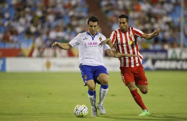 Dónde ver el partido de fútbol Zaragoza Almería 29 octubre