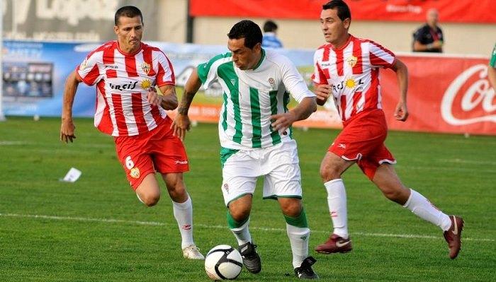 Dónde ver el partido de fútbol Almería Córdoba 6 noviembre