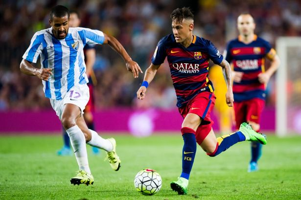 Dónde ver el partido de fútbol Barcelona Málaga 19 noviembre