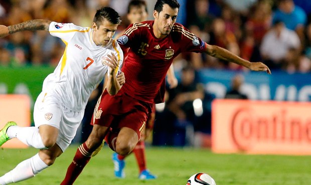Dónde ver el partido de fútbol España Macedonia 12 noviembre