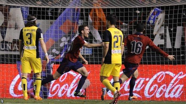 Dónde ver el partido de fútbol Osasuna Atlético 27 noviembre