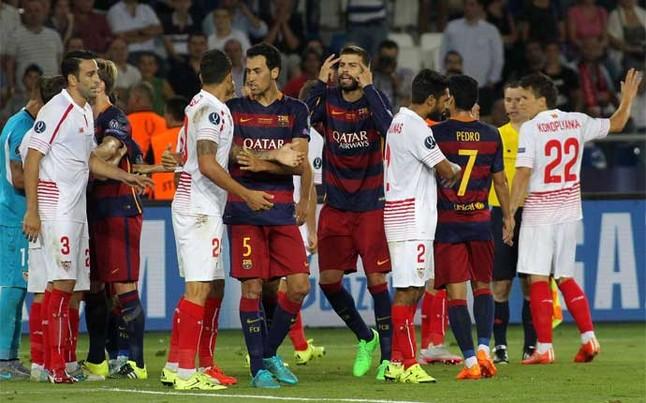 Dónde ver el partido de fútbol Sevilla Barcelona 6 noviembre