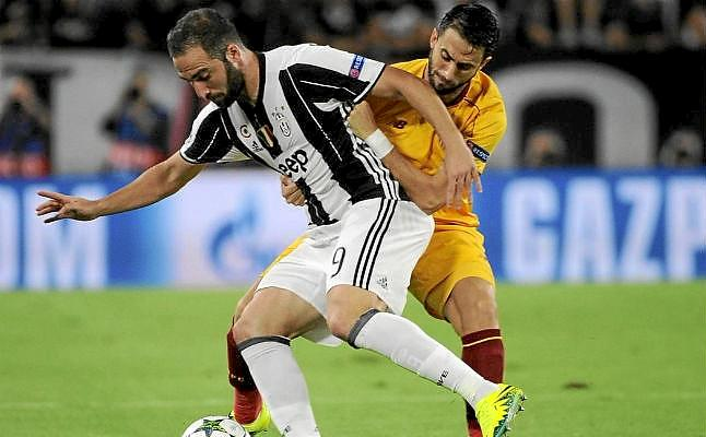 Dónde ver el partido de fútbol Sevilla Juventus 22 noviembre