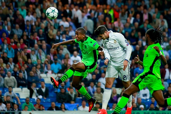 Dónde ver el partido de fútbol Sporting Lisboa Real Madrid 22 noviembre