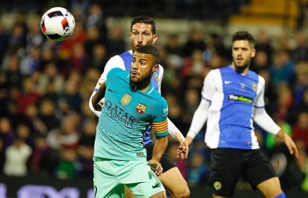 Dónde ver el partido de fútbol Barcelona Hércules 20 diciembre