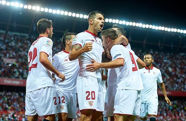 Dónde ver el partido de fútbol Lyon Sevilla 7 diciembre
