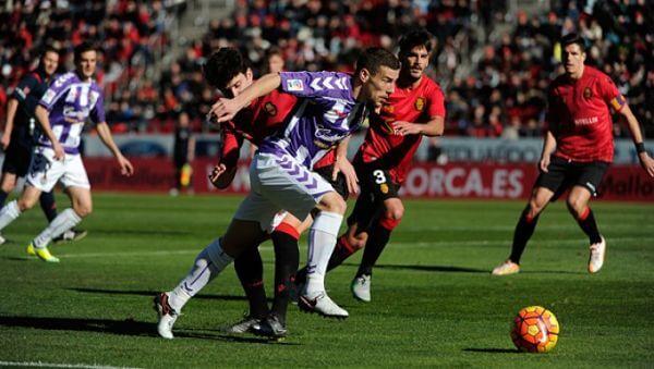 Dónde ver el partido de fútbol Mallorca Valladolid 4 diciembre