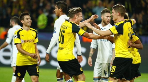 Dónde ver el partido de fútbol Real Madrid Dortmund 7 diciembre