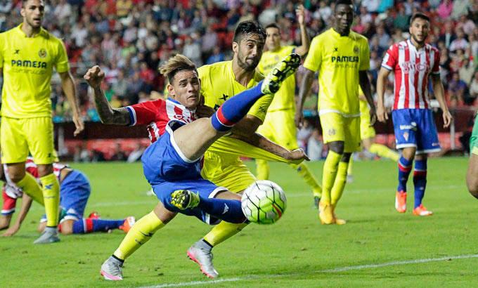 Dónde ver el partido de fútbol Sporting Villarreal 17 diciembre