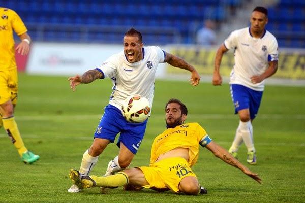 Dónde ver el partido de fútbol Tenerife Alcorcón 17 diciembre