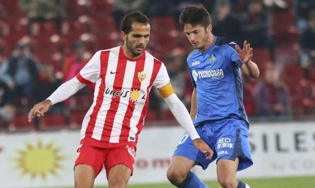 Dónde ver el partido de fútbol Almería Getafe 6 enero