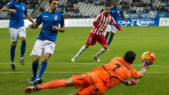 Dónde ver el partido de fútbol Almería Oviedo 29 enero