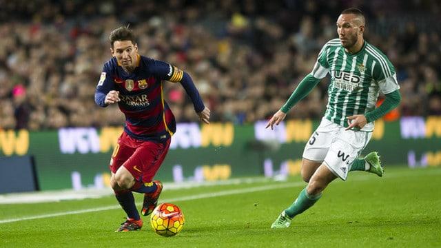 Dónde ver el partido de fútbol Betis Barcelona 29 enero