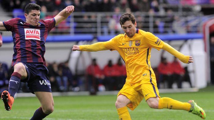 Dónde ver el partido de fútbol Eibar Barcelona 22 enero