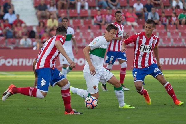 Dónde ver el partido de fútbol Elche Girona 27 enero