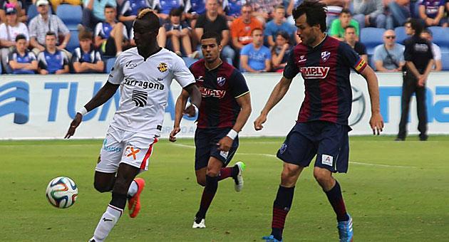 Dónde ver el partido de fútbol Nástic Huesca 28 enero
