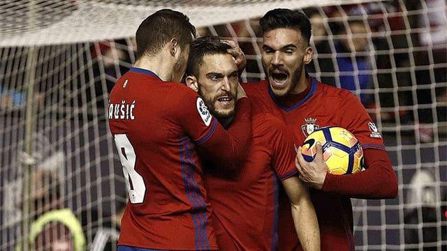 Dónde ver el partido de fútbol Osasuna Sevilla 22 enero