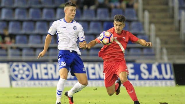 Dónde ver el partido de fútbol Sevilla Atlético Tenerife 28 enero