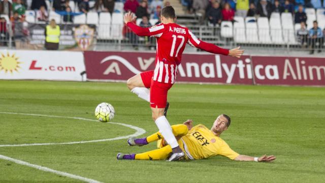 Dónde ver el partido de fútbol Almería Girona 11 febrero