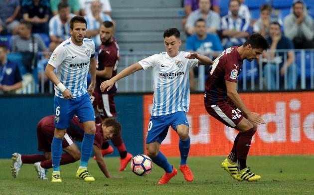 Dónde ver el partido de fútbol Eibar Málaga 25 febrero