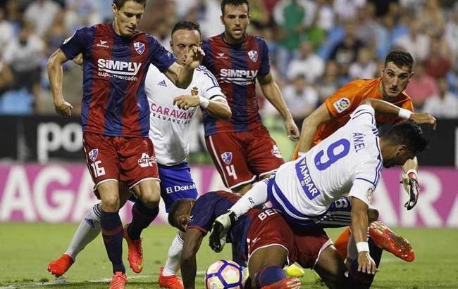 Dónde ver el partido de fútbol Huesca Zaragoza 4 febrero