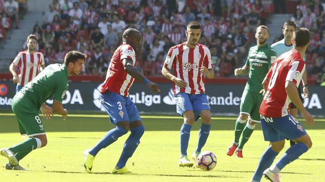 Dónde ver el partido de fútbol Leganés Sporting 12 febrero