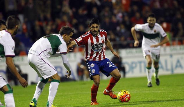 Dónde ver el partido de fútbol Lugo Elche 17 febrero