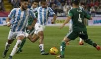 Dónde ver el partido de fútbol Málaga Betis 28 febrero