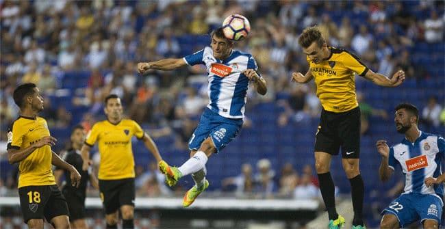 Dónde ver el partido de fútbol Málaga Espanyol 4 febrero