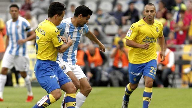Dónde ver el partido de fútbol Málaga Las Palmas 20 febrero