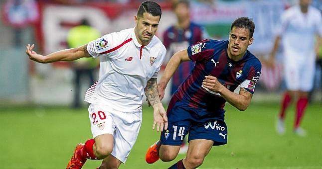 Dónde ver el partido de fútbol Sevilla Eibar 18 febrero