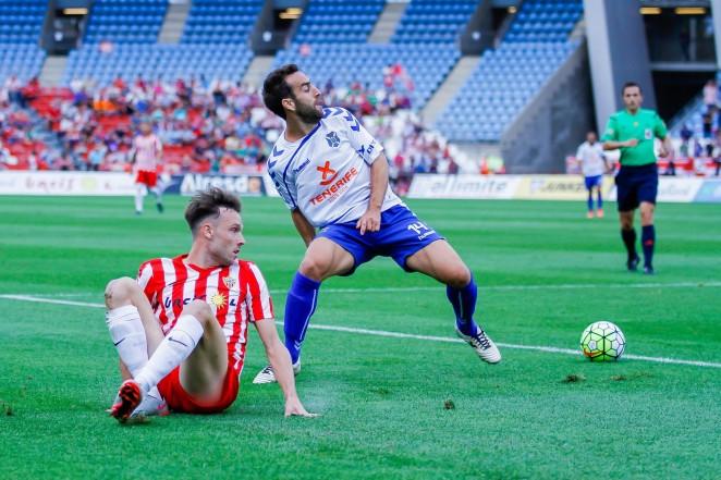 Dónde ver el partido de fútbol Tenerife Almería 18 febrero