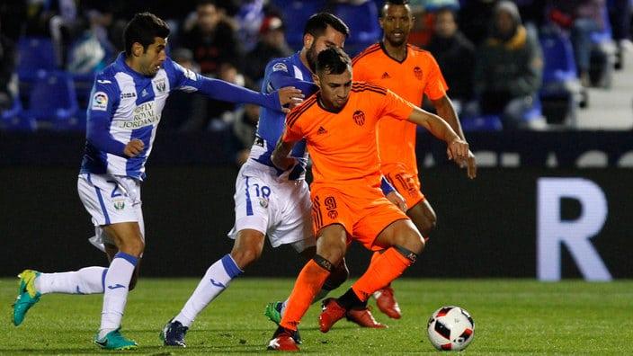 Dónde ver el partido de fútbol Valencia Leganés 28 febrero