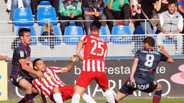 Dónde ver el partido de fútbol Almería Huesca 12 marzo