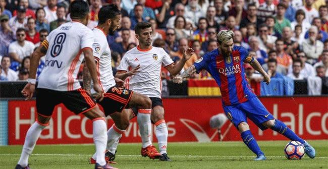 Dónde ver el partido de fútbol Barcelona Valencia 19 marzo