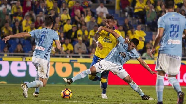 Dónde ver el partido de fútbol Celta Las Palmas 2 abril