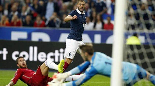 Dónde ver el partido de fútbol Francia España 28 marzo