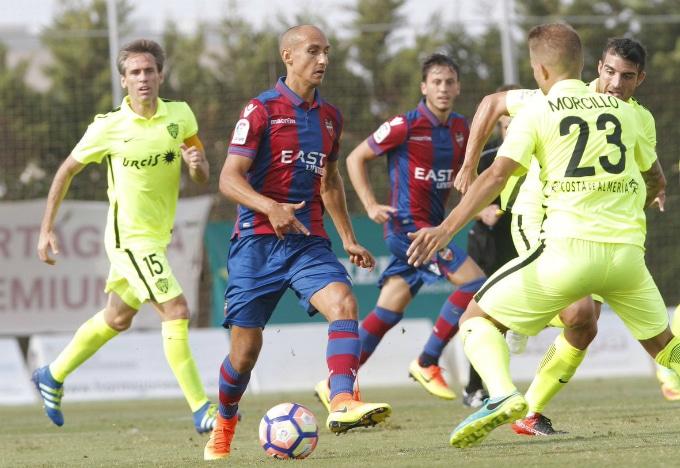 Dónde ver el partido de fútbol Levante Almería 19 marzo