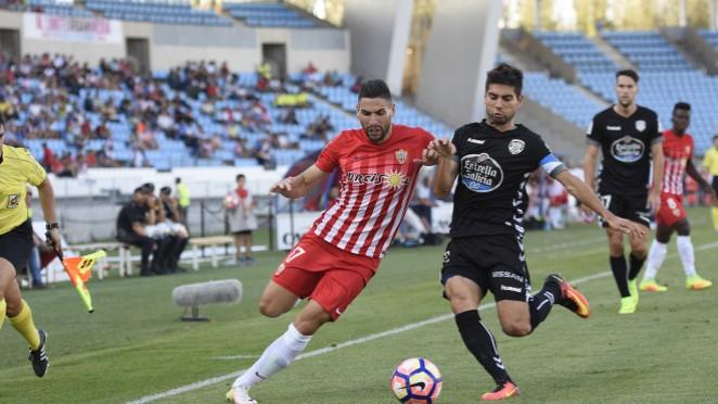 Dónde ver el partido de fútbol Lugo Almería 5 marzo