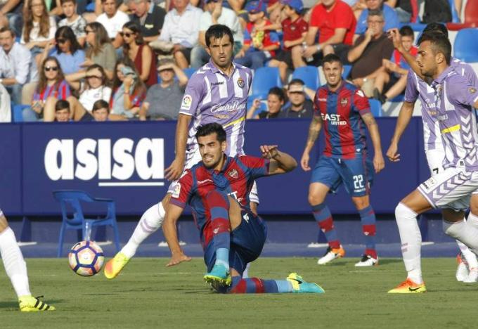 Dónde ver el partido de fútbol Valladolid Levante 11 marzo