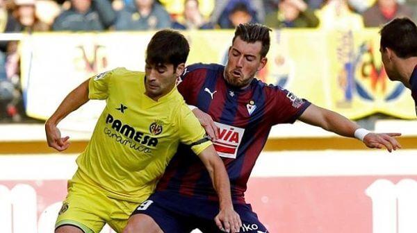 Dónde ver el partido de fútbol Villarreal Eibar 1 abril