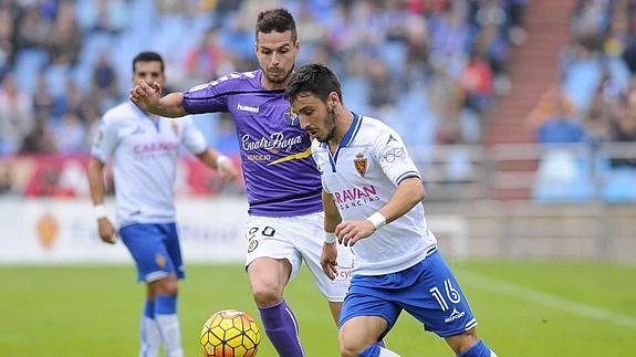 Dónde ver el partido de fútbol Zaragoza Valladolid 2 abril