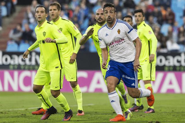 Dónde ver el partido de fútbol Almería Zaragoza 9 abril