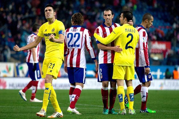 Dónde ver el partido de fútbol Atlético Villarreal 25 abril