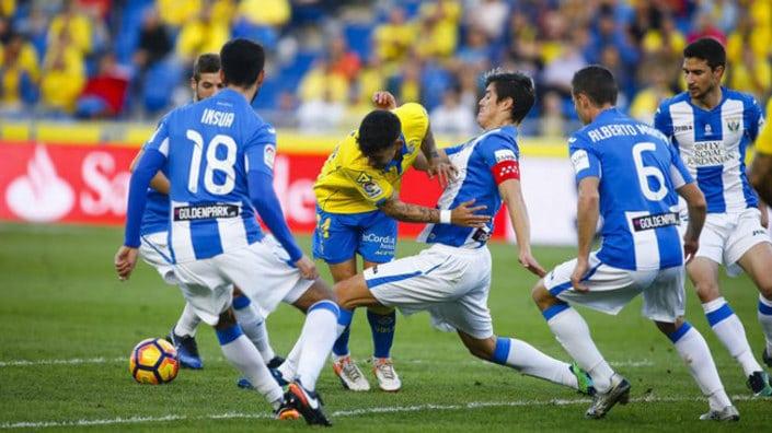 Dónde ver el partido de fútbol Leganés Las Palmas 26 abril