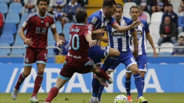 Dónde ver el partido de fútbol Real Sociedad Deportivo 23 abril