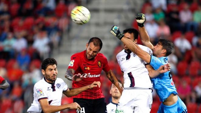 Dónde ver el partido de fútbol Zaragoza Mallorca 16 abril