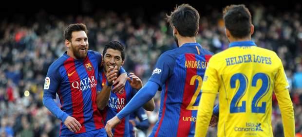 Dónde ver el partido de fútbol Las Palmas Barcelona 14 mayo